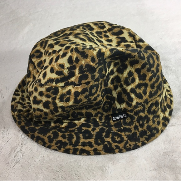 1f9eb37b32f3 Quintin bucket hat black /leopard print reversible.  M_5c42bc6fc89e1dd4832bec02. Other Accessories ...